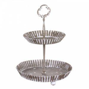 Десертница (ваза двухъярусная)