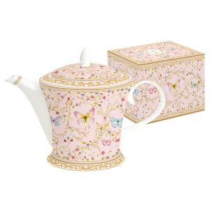 """Чайник """"Majestic"""" (розовый) в подарочной упаковке"""