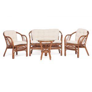 """Комплект """"COLOMBIA"""" (диван, 2 кресла и стол)"""