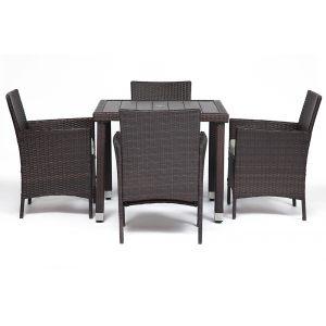 """Обеденный сет """"Toskany"""" (стол и 4 кресла)"""