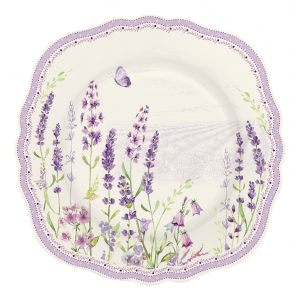 """Тарелка десертная """"Lavender field"""" в подарочной упаковке"""
