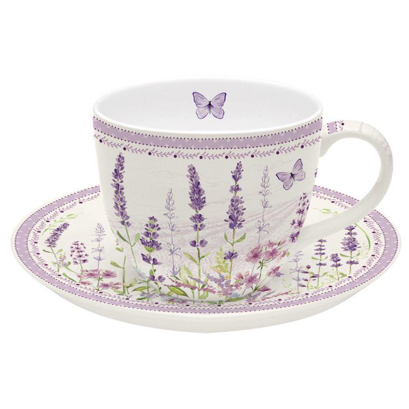 """Чайная пара """"Lavender field"""""""