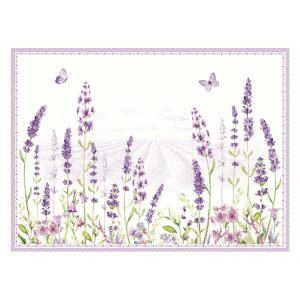 """Набор из 4 подставок под горячее """"Lavender field"""" в подарочной упаковке"""