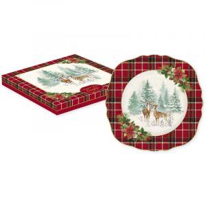 """Тарелка десертная """"Winter forest"""" в подарочной упаковке"""