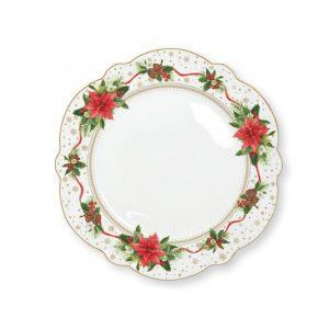 """Тарелка обеденная """"Poinsettia"""""""