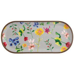"""Тарелка сервировочная большая (белая) """"Contessa"""" в подарочной упаковке"""