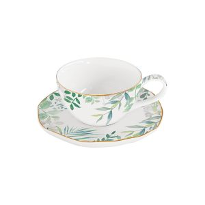 "Чашка с блюдцем для кофе ""Amazonia"" без инд.упаковки"