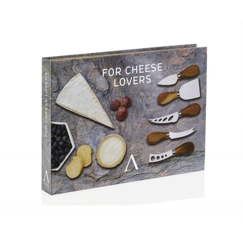"""Подарочный набор из 5 ножей для сыра """"Comfort"""""""