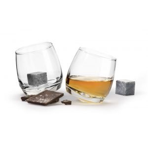 """Набор из 2 бокалов для виски с кубиками для охлаждения """"Pub"""" 200 мл"""