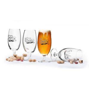 """Набор из 4 бокалов для пива """"Pub"""" 420 мл"""