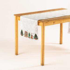 "Дорожка на стол ""Новогодняя лента"""