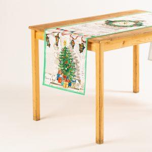 """Дорожка на стол """"Пряничное Рождество"""""""