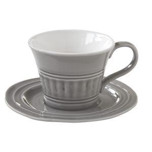 """Чашка с блюдцем """"Abitare"""" (большая, для завтрака) без инд.упаковки"""