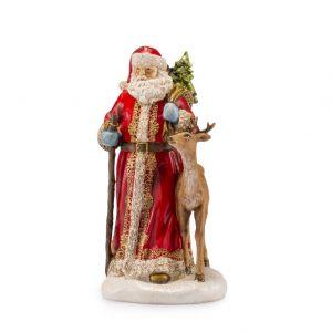 "Фигурка ""Санта и олень"" 26,5 см"