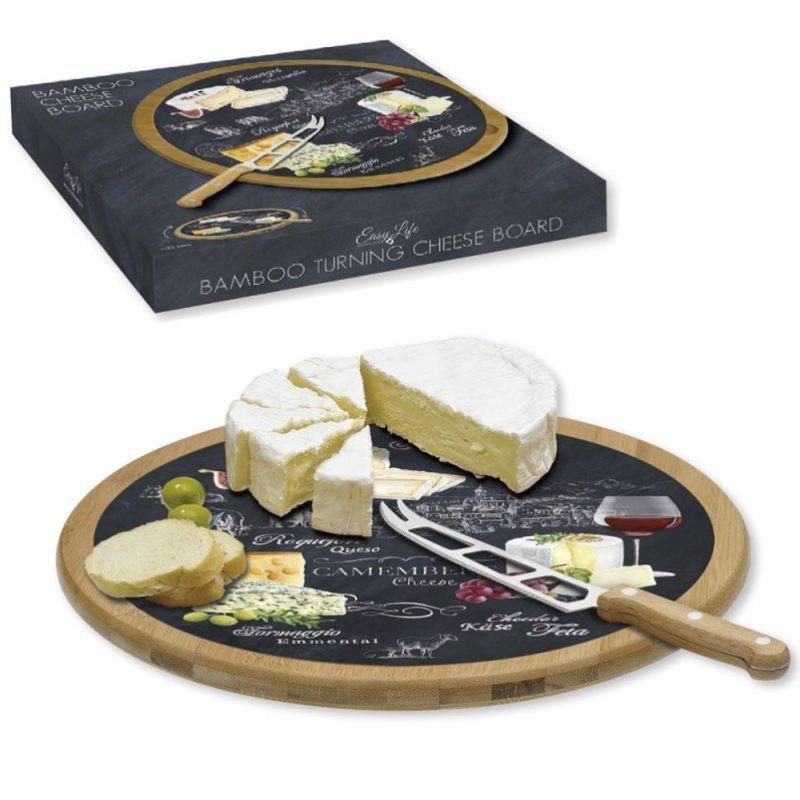 Вращающееся блюдо с ножом  Мир сыров