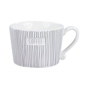 "Чашка ""White Stripes Coffee"""