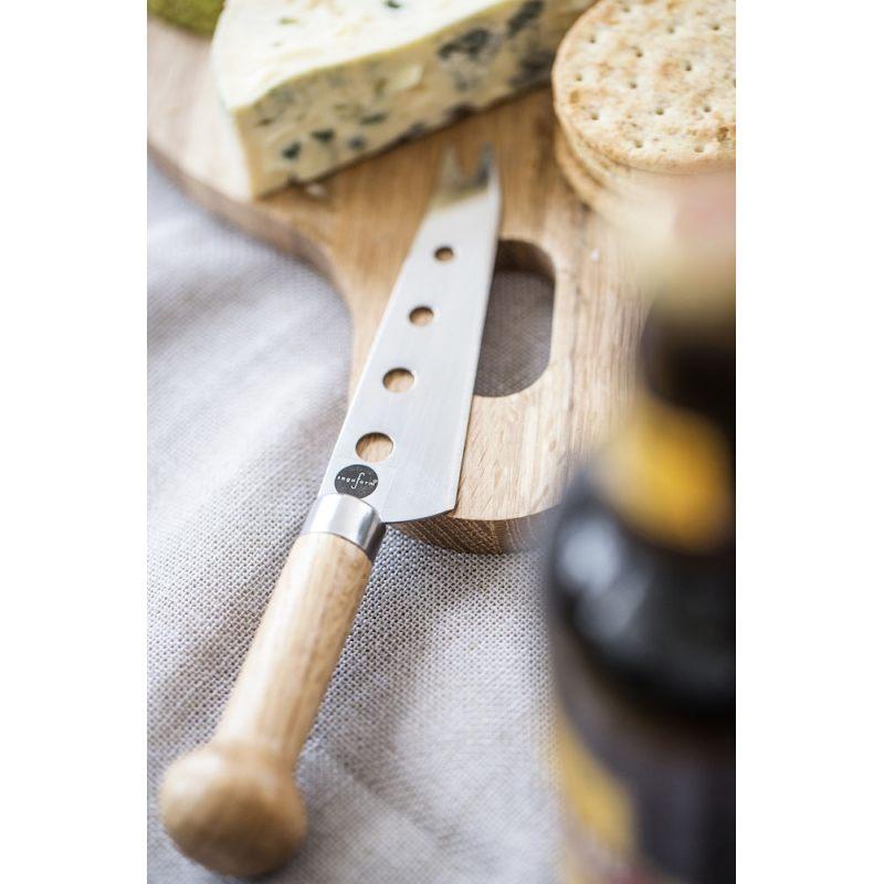 """Нож-вилка для сыра с перфорацией """"Wood"""""""