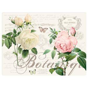 """Набор из 4 пробковых салфеток """"Jardin Botanique"""" в подарочной  упаковке"""