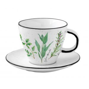 """Чашка с блюдцем """"Herbarium"""" в подарочной упаковке"""
