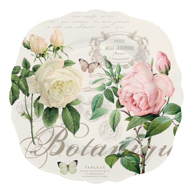 """Тарелка десертная """"Jardin Botanique"""" в подарочной упаковке"""