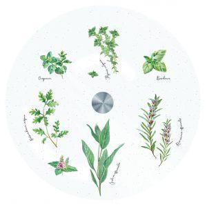 """Вращающееся блюдо """"Herbarium"""" в подарочной упаковке"""