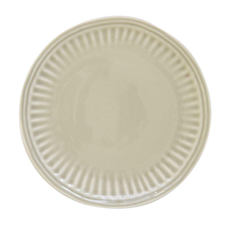 """Тарелка закусочная """"Abitare"""" (с фактурным краем)"""