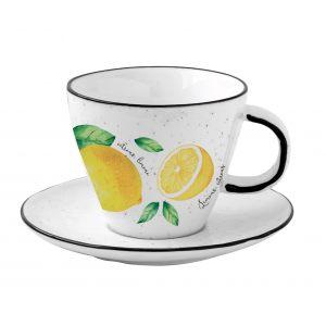 """Чашка с блюдцем  """"Amalfi"""" в подарочной упаковке"""