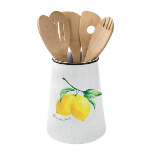 """Подставка с 5 кухонными инструментами """"Amalfi"""" в подарочной упаковке"""