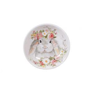 """Тарелка для пасты """"Милый кролик"""" 23 см"""