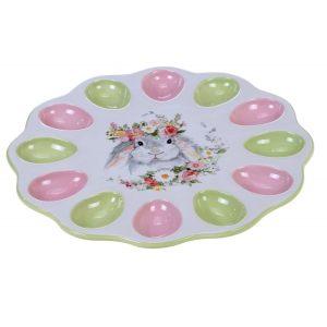 "Тарелка для яиц ""Милый кролик"" 31 см"
