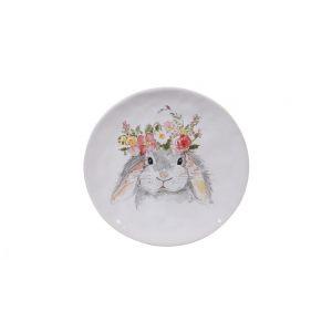 """Тарелка закусочная """"Милый кролик"""""""