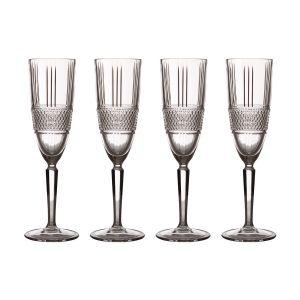 """Набор """"Verona"""": 4 бокала для шампанского в подарочной упаковке"""