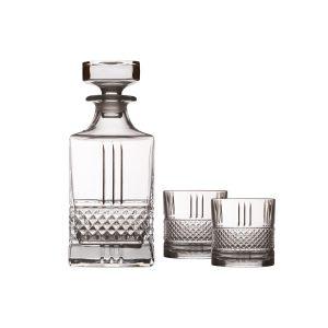 """Набор для виски """"Verona"""": декантер + 2 стакана в подарочной упаковке"""