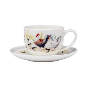 "Чашка с блюдцем ""Poultry yard"""