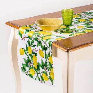 """Дорожка на стол """"Лимоны"""""""