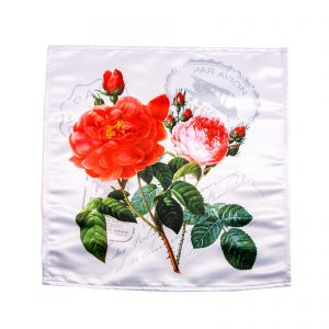 "Салфетка ""Цветы с марками"""