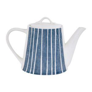 """Чайник """"Бриз"""" (синий с белыми полосками)  в инд.упаковке"""