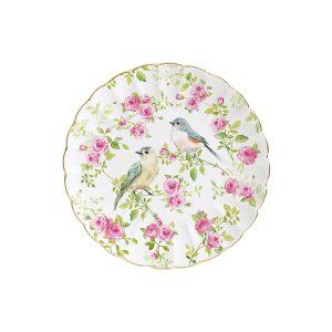 """Тарелка десертная """"Птицы в саду"""" в подарочной упаковке"""