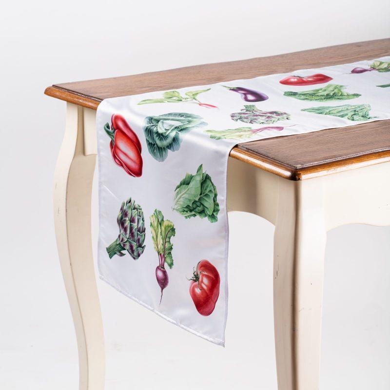 """Дорожка на стол """"Овощи"""""""