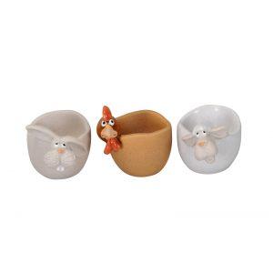 """Подставка для яйца """"Кролик/Курица/Овечка"""" в ассортименте"""