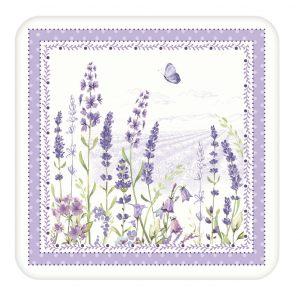 """Набор из 6 подставок под стаканы """"Lavender field"""" в подарочной упаковке"""