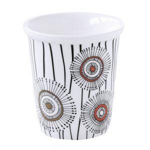 """Набор из 4 чашек для кофе """"Organic collection"""" в цветной упаковке"""