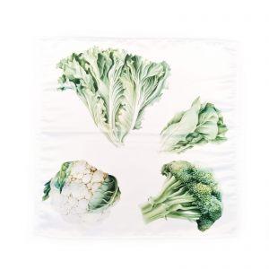 "Салфетка ""Овощи. Капуста и салат"""