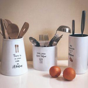 Органайзеры для кухонных инструментов