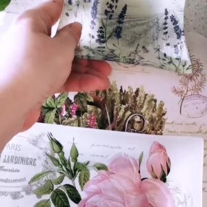 Салфетки под горячее Травы 45х30 см Сreative