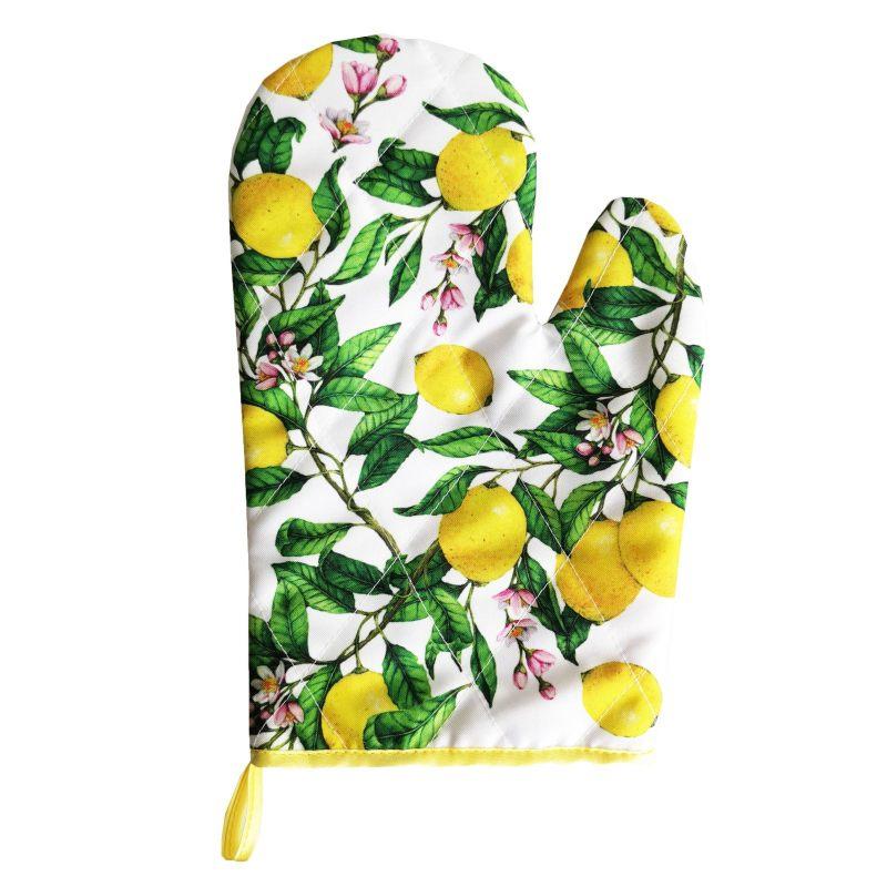 """Рукавица """"Лимоны"""""""