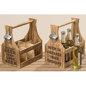Ящик для пива декоративный в ассортименте
