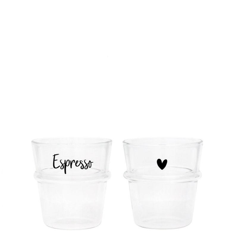 "Стакан для эспрессо ""Heart/Espresso white"""
