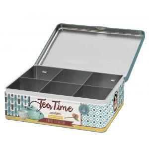 """Коробка для чайных пакетиков """"Tea time"""""""
