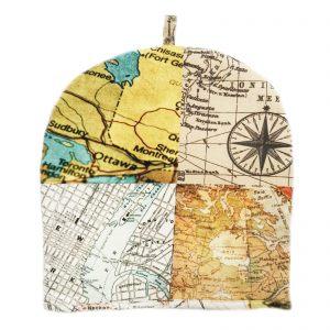 "Грелка на чайник ""Карта мира"""